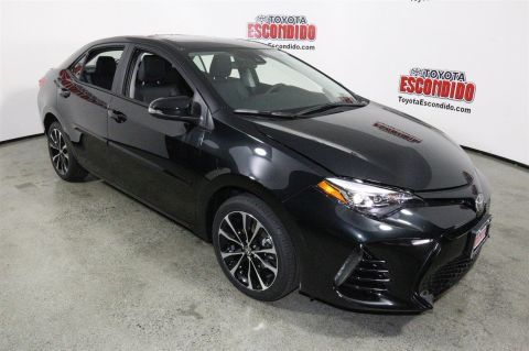 New 2017 Toyota Corolla SE FWD 4dr Car