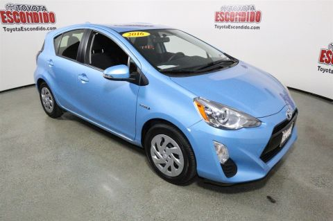 Certified Pre-Owned 2016 Toyota Prius c Two FWD Hatchback