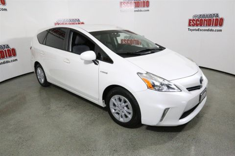 Certified Pre-Owned 2013 Toyota Prius v Three FWD Station Wagon