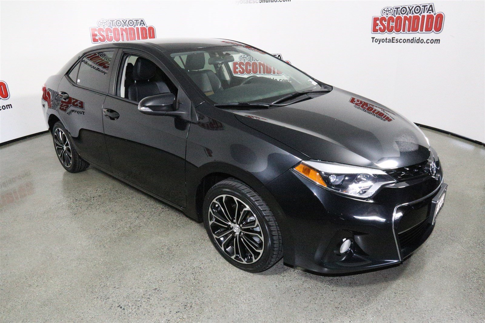 pre owned 2014 toyota corolla s plus 4dr car in escondido. Black Bedroom Furniture Sets. Home Design Ideas
