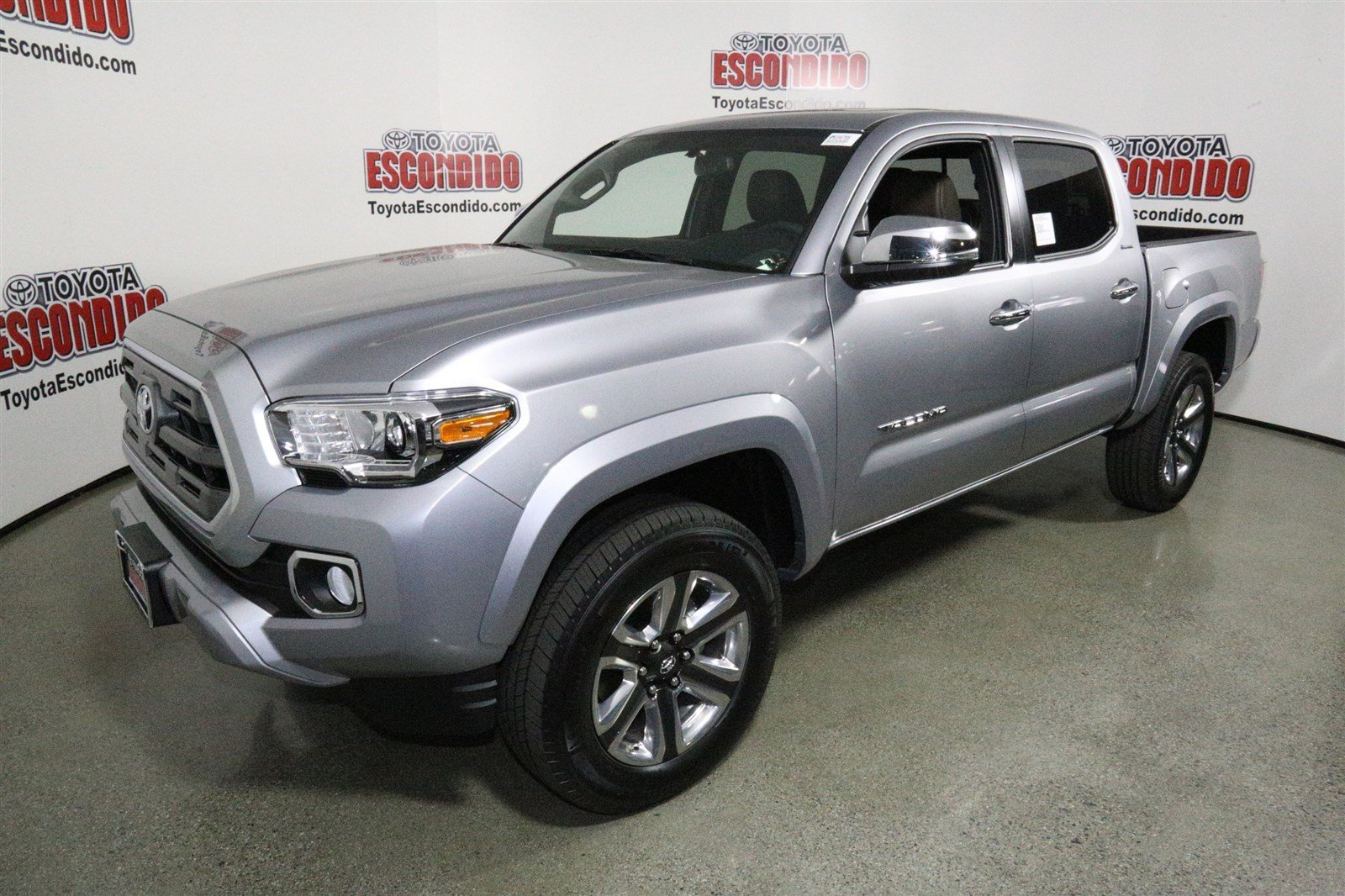 new 2017 toyota tacoma limited double cab pickup in escondido hm035474 toyota of escondido. Black Bedroom Furniture Sets. Home Design Ideas