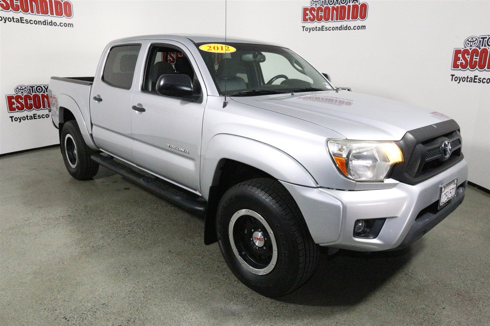 certified pre owned 2012 toyota tacoma prerunner double cab pickup in escondido 59479 toyota. Black Bedroom Furniture Sets. Home Design Ideas