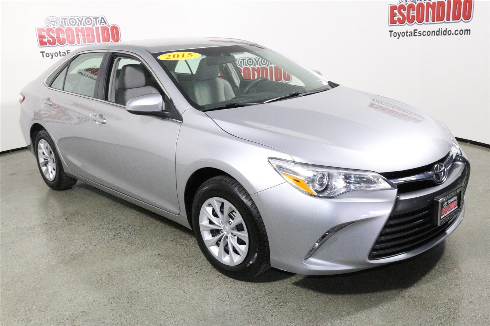 certified pre owned 2015 toyota camry le 4dr car in escondido 59258 toyota of escondido. Black Bedroom Furniture Sets. Home Design Ideas