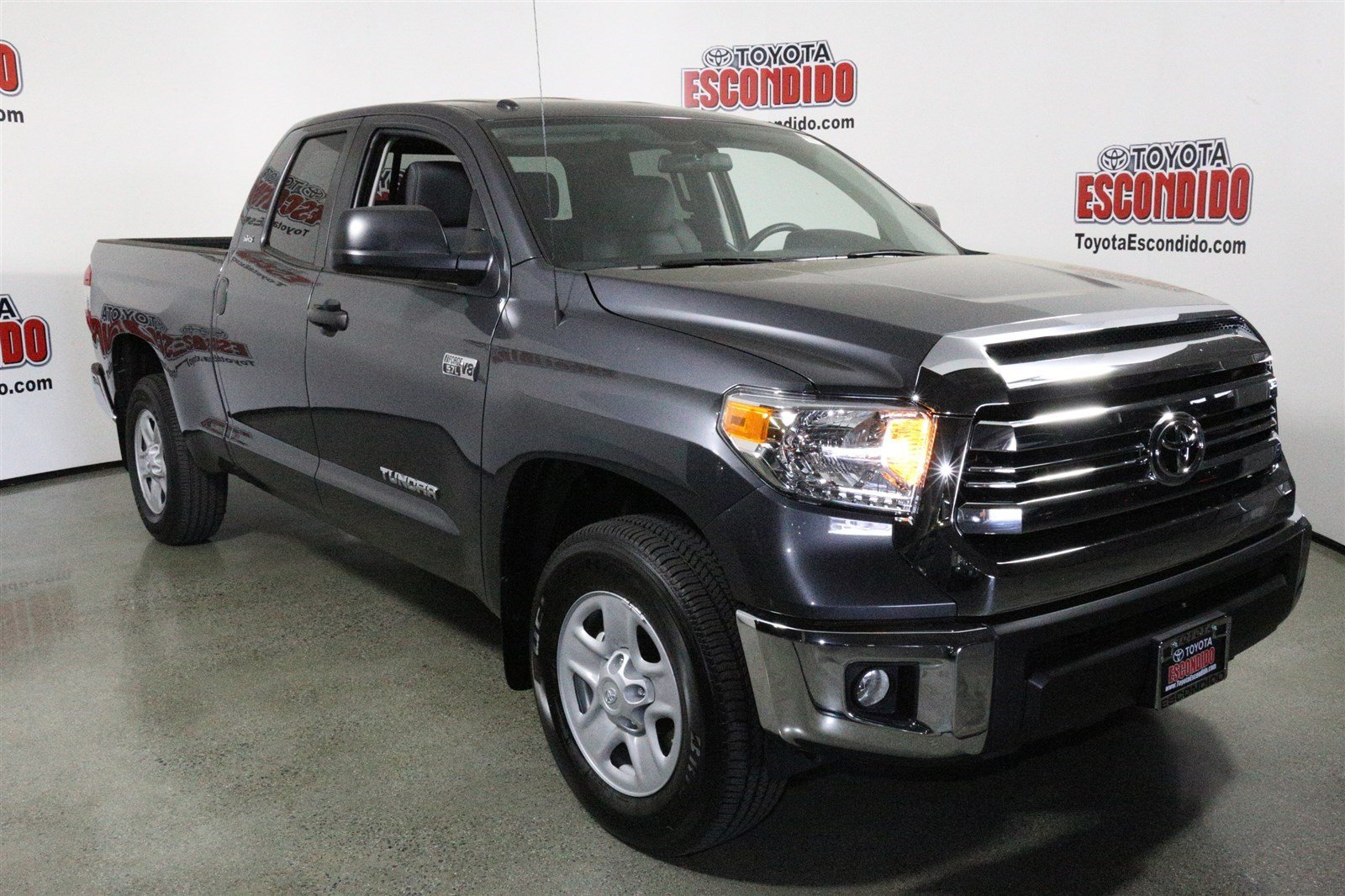 new 2017 toyota tundra 2wd sr5 double cab pickup in escondido 1013863 toyota of escondido. Black Bedroom Furniture Sets. Home Design Ideas