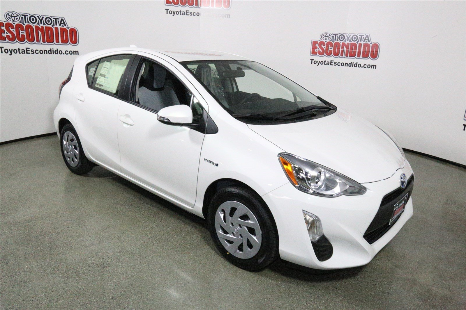 new 2016 toyota prius c one hatchback in escondido g1589878 toyota of escondido. Black Bedroom Furniture Sets. Home Design Ideas