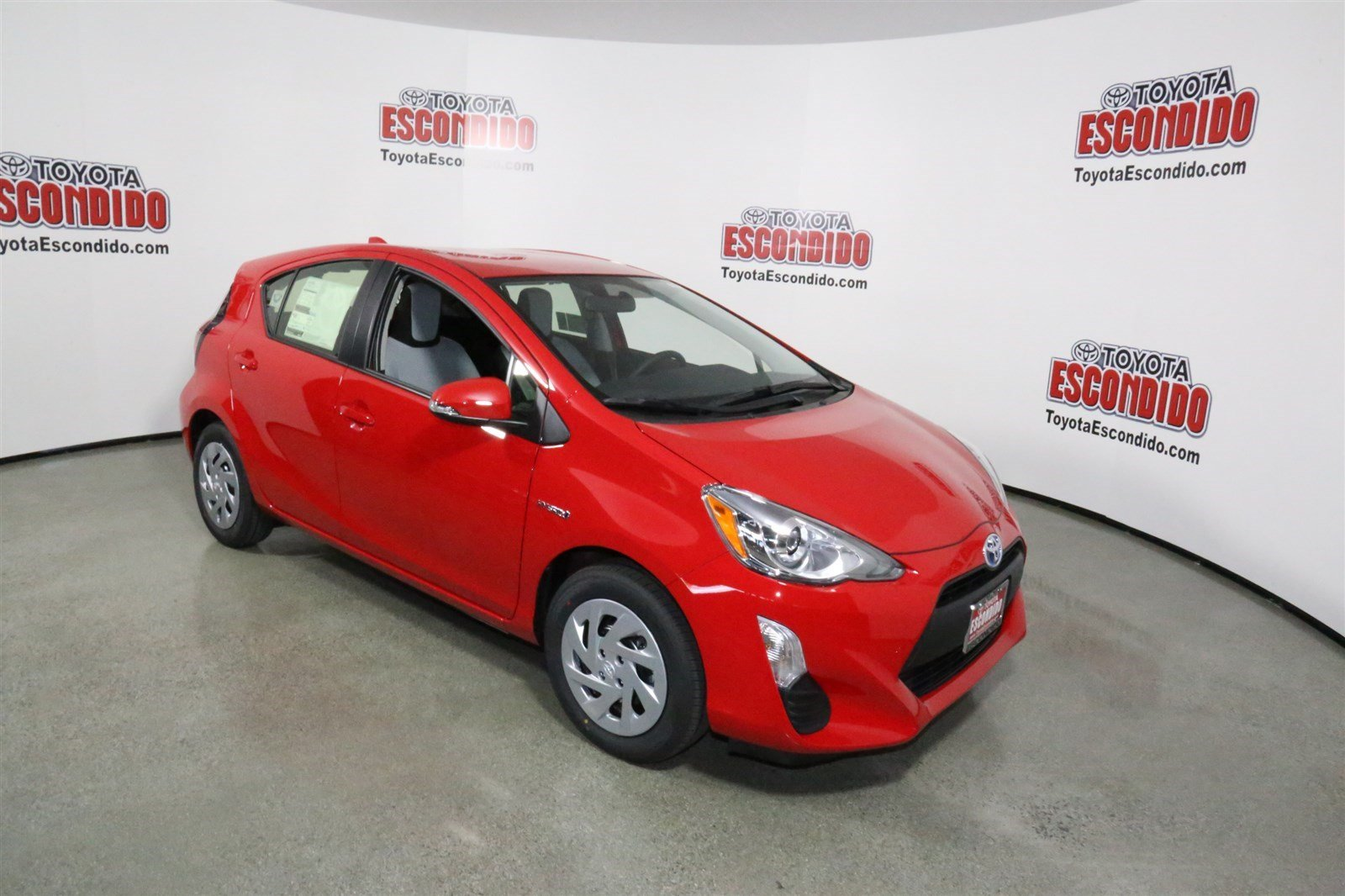 new 2016 toyota prius c one hatchback in escondido 1010629 toyota of escondido. Black Bedroom Furniture Sets. Home Design Ideas
