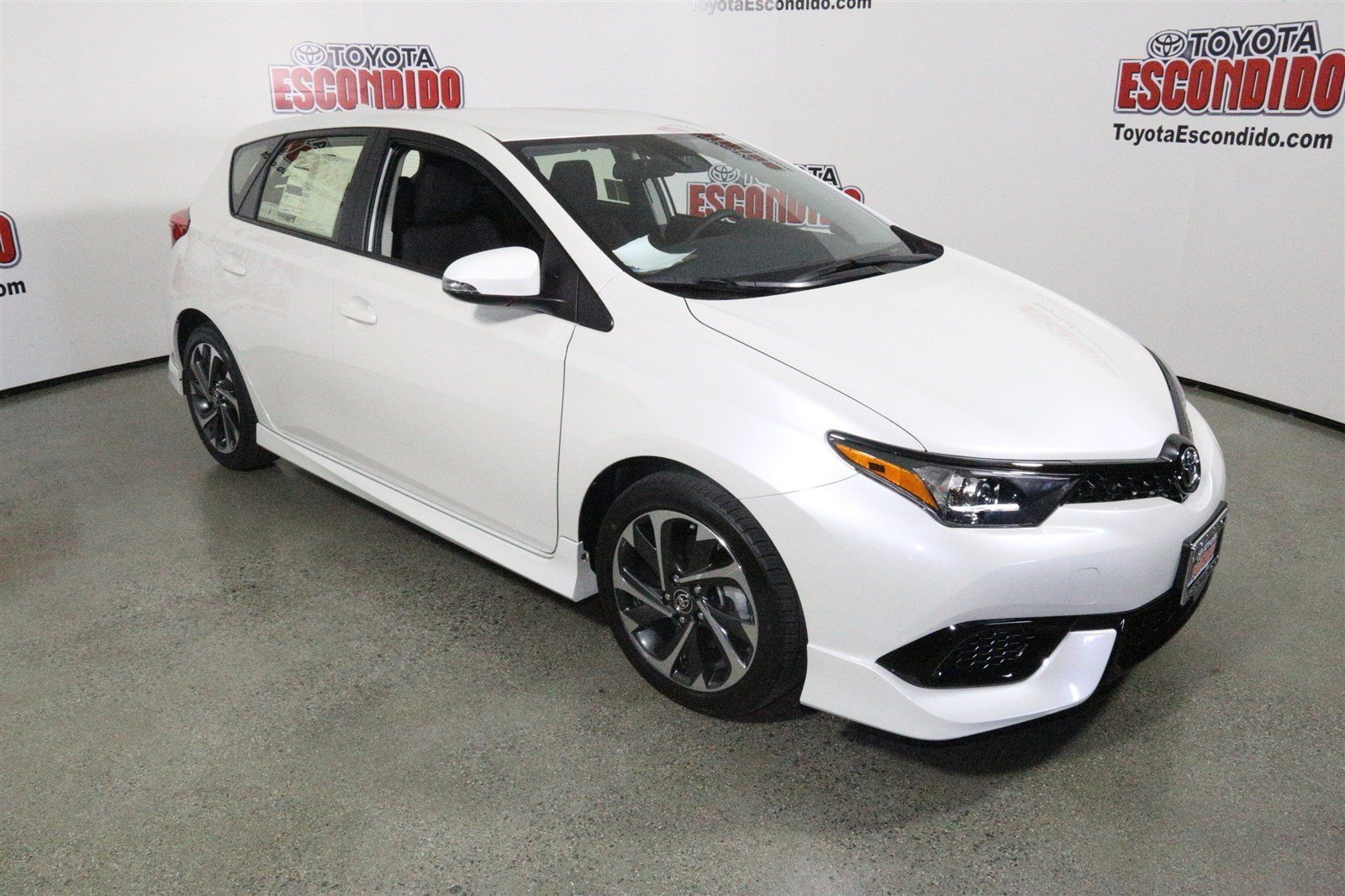 new 2017 toyota corolla im hatchback in escondido hj531318 toyota of escondido. Black Bedroom Furniture Sets. Home Design Ideas