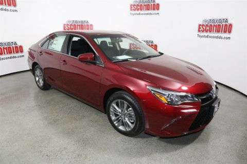 new 2017 toyota camry se 4dr car in escondido hu342407 toyota escondido. Black Bedroom Furniture Sets. Home Design Ideas
